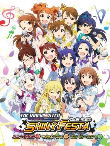The Idolmaster: Shiny Festa  (Completed Batch) (720p|100MB)