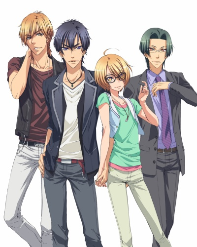 Download Love Stage!! (main) Anime