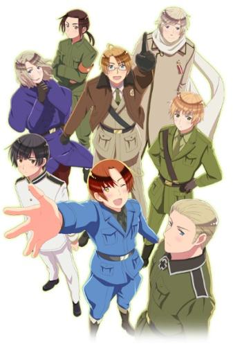 Download Hetalia: The World Twinkle (main) Anime