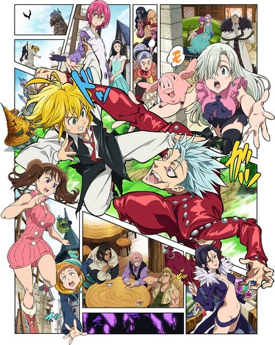 Download Nanatsu no Taizai: Seisen no Shirushi (main) Anime