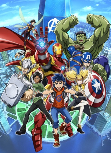 Download Marvel Future Avengers (Season 1) Anime