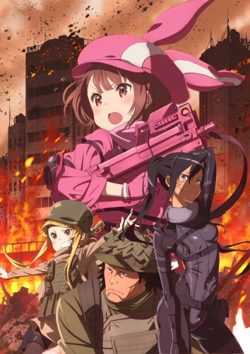 Download Sword Art Online Alternative: Gun Gale Online (main) Anime