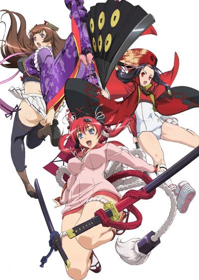 Download Hyakka Ryouran: Samurai Girls (main) Anime