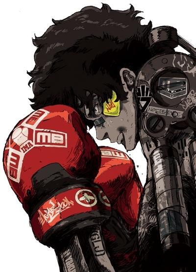 Download Megalo Box (main) Anime