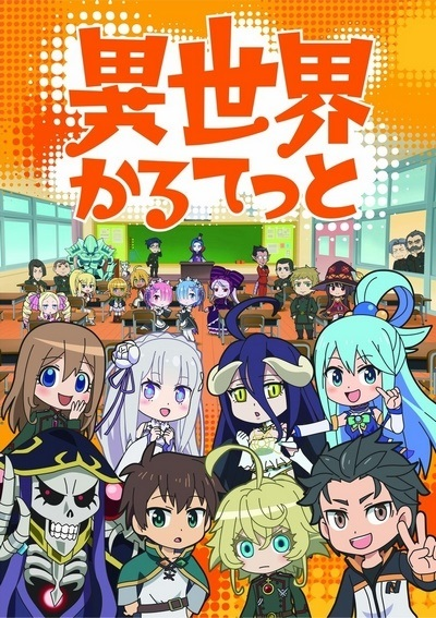 Download Isekai Quartet (main) Anime
