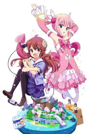 Download Machikado Mazoku (main) Anime