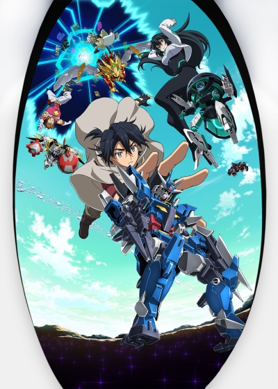 Download Gundam Build Divers Re:Rise (main) Anime
