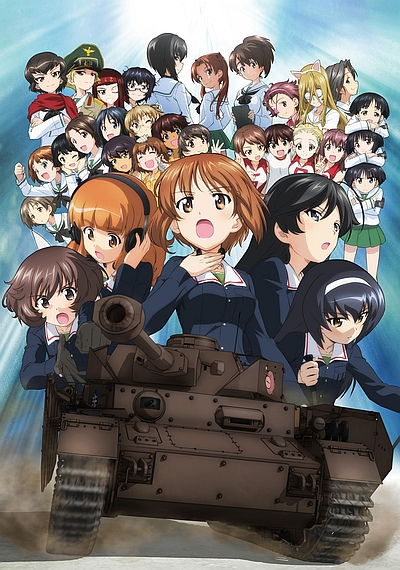 Download Girls und Panzer Gekijouban (main) Anime