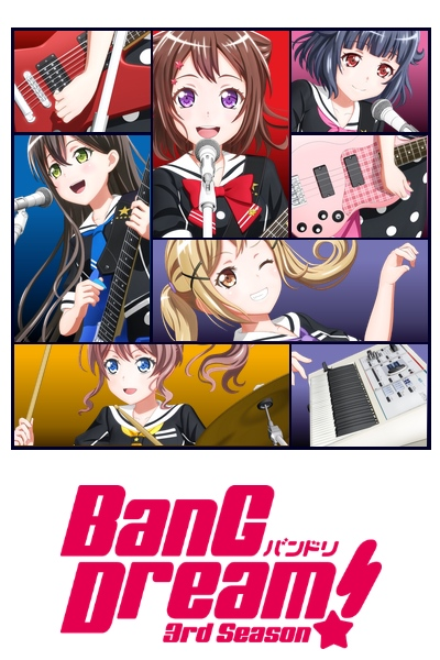 Download Bang Dream! 3rd Season (main) Anime