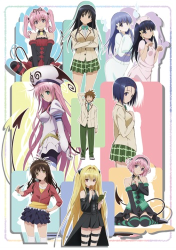 Motto To Love-Ru (Complete Batch) (720p|100MB)