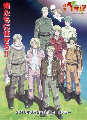 Download Ginmaku Hetalia: Axis Powers - Paint It, White (Shiroku Nure!) (main) Anime