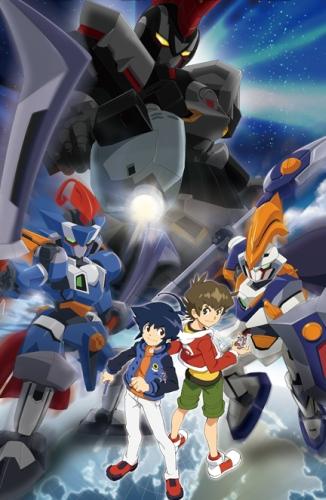 Download Danball Senki W (main) Anime