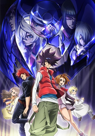 Download Phi Brain: Kami no Puzzle (2012) (main) Anime