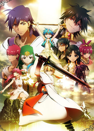 Download Magi: The Labyrinth of Magic (main) Anime