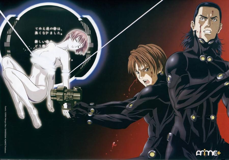 Download Gantz (100MB-720p) - AnimeOut
