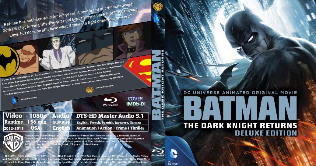 Download Batman: The Dark Knight Returns (Bluray)(2012-2013)(500MB)