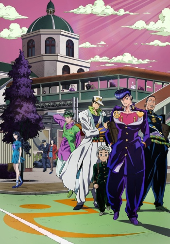 Download JoJo`s Bizarre Adventure: Diamond Is Unbreakable 100MB Encoded Anime