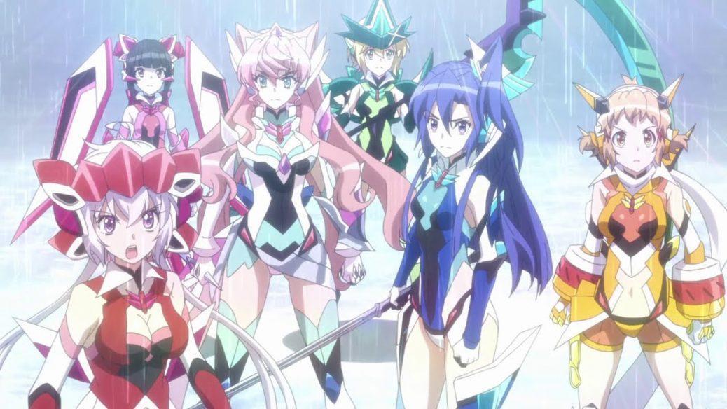 Download Senki Zesshou Symphogear XV (2019)(Episode 4) (100MB-720p